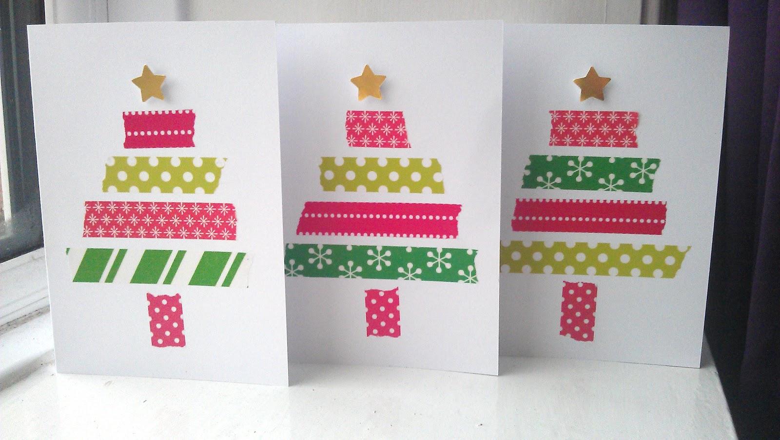 Easy Handmade Christmas Card Ideas