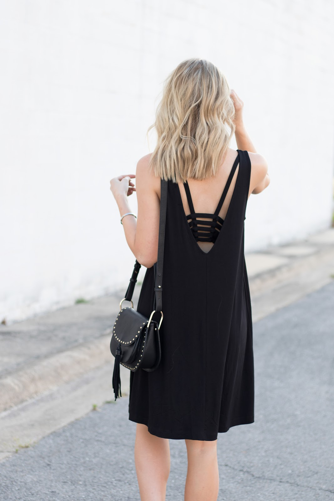 Strappy back sundress