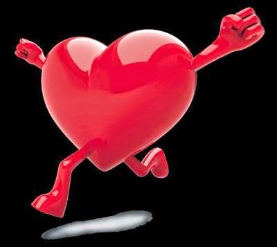 jantung, bukan hati yang berdebar