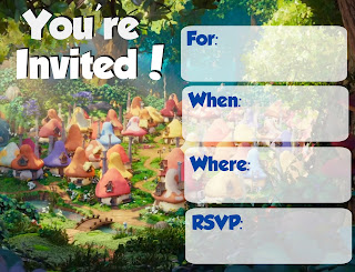 Lost Village Invitations