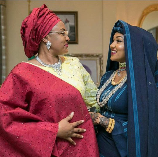 Photos: Zahra Buhari weds Ahmed Indimi