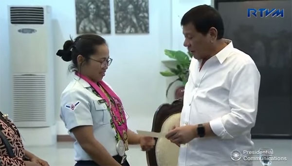 P2 million more for Diaz from Pres. Rody