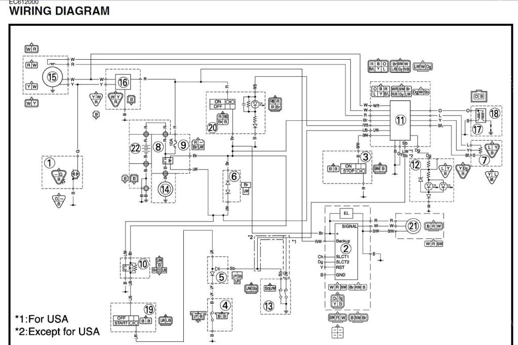 Remarkable Yamaha Wr450 Wiring Diagram Basic Electronics Wiring Diagram Wiring Cloud Oideiuggs Outletorg