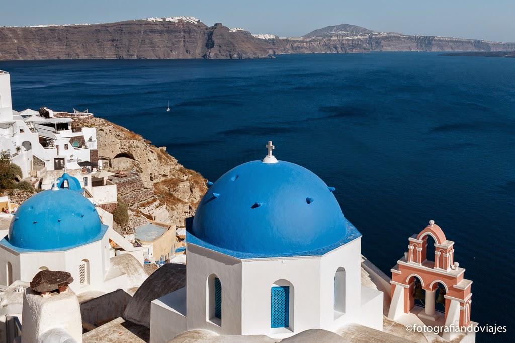 Oia, Santorini, Islas cicladas en Grecia