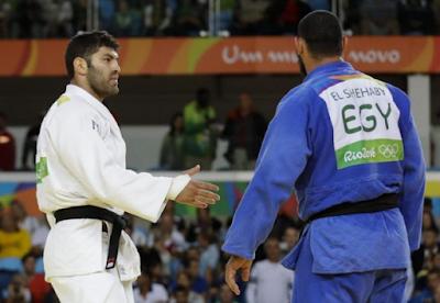 Tolak Berjabat Tangan dengan Atlet Israel, Atlet Mesir Dipulangkan