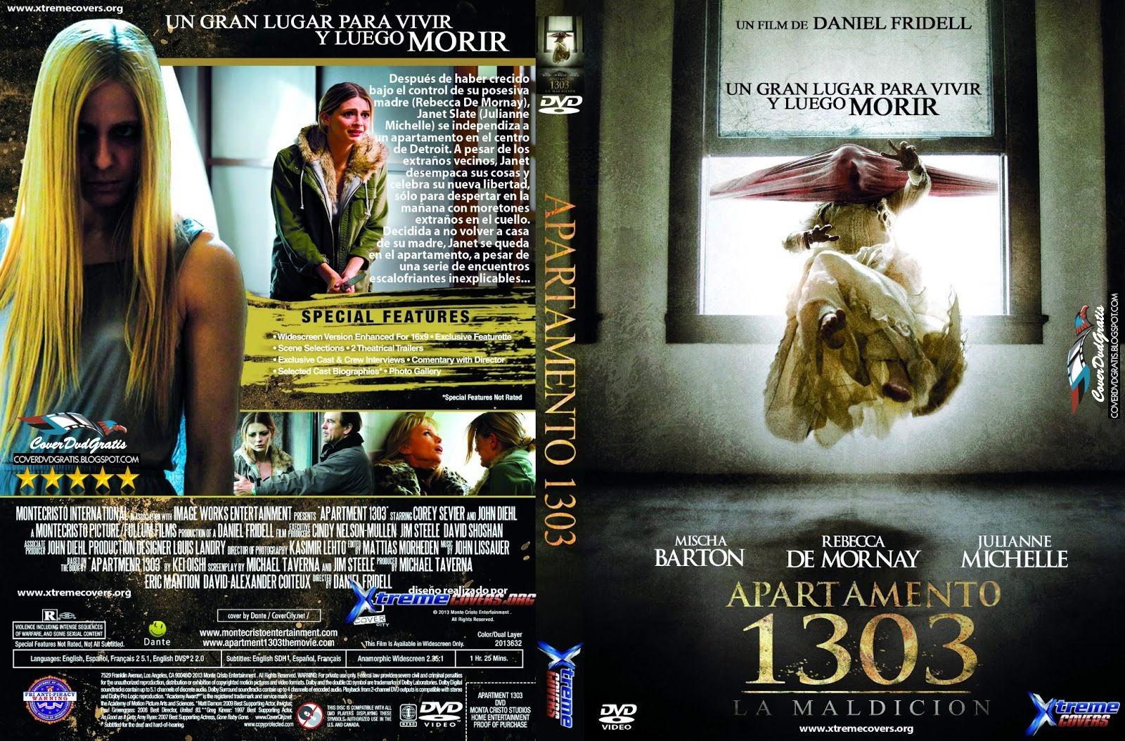 Apartment 1303 3D 2013 DVD COVER - CoverDvdGratis