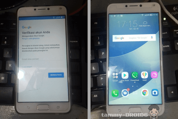 Bypass FRP Asus Zenfone 4 Max Pro X00ID Android 7.1 Tested