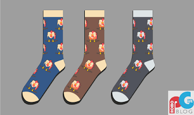 Chinese New Year Promotional Rooster Socks