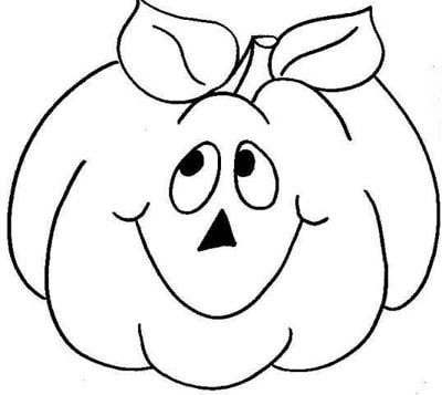 pumpkin to color and cut pdf printable pumpkin coloring page blank ...