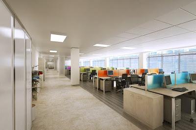 Thiết kế nội thất văn phòng lớn