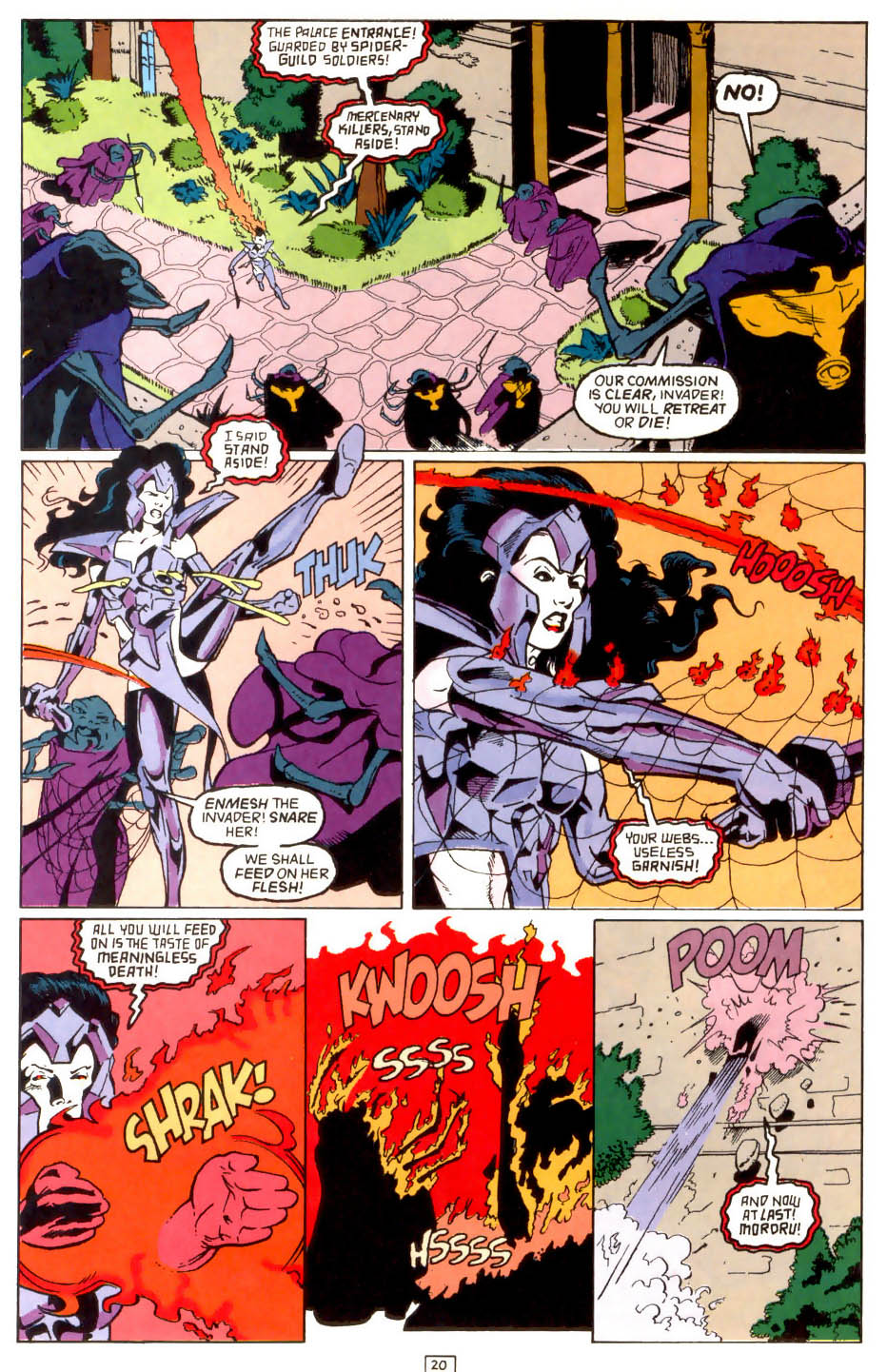 Legion of Super-Heroes (1989) 43 Page 20