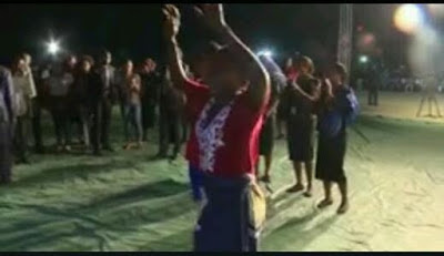 Woman healed at Ibiyeomie's crusade