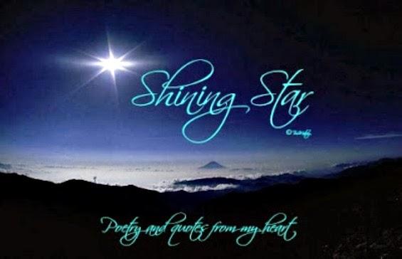 Star poem shining my Missing Mom