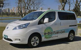Prototipo auto Nissan e-Bio e Fuel-Cell