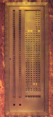 Chrysler Building Lift Panel