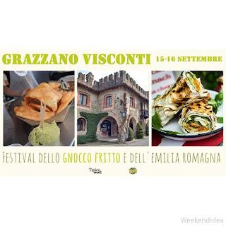 Festival Gnocco Fritto & Emilia Romagna 15 - 16 settembre Grazzano Visconti (PC)