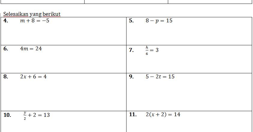 Contoh Soalan Nombor Nisbah Tingkatan 1 G Soalan