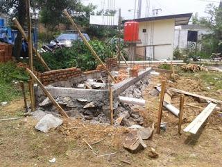 [FOTO] Pembangunan Toilet SDN Sukaragam 03 Bekasi