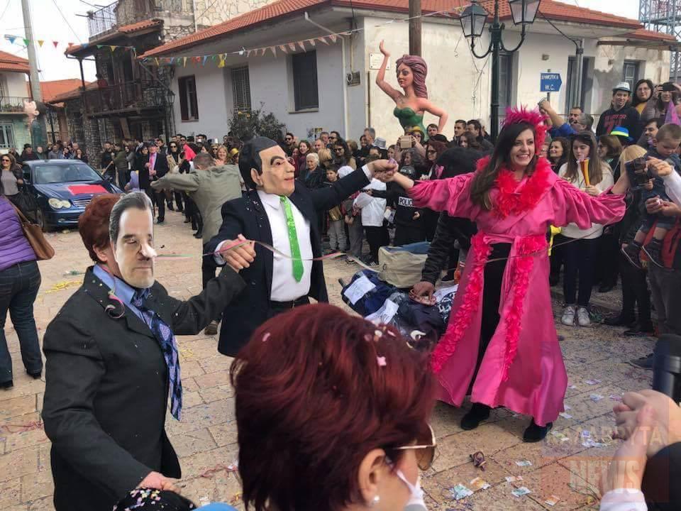 Καρέ-καρέ το μοναδικό Καρναβάλι της Δάφνης Καλαβρύτων