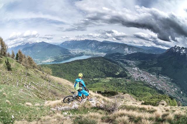 mountainbike tour trento trient trentino monte marzola