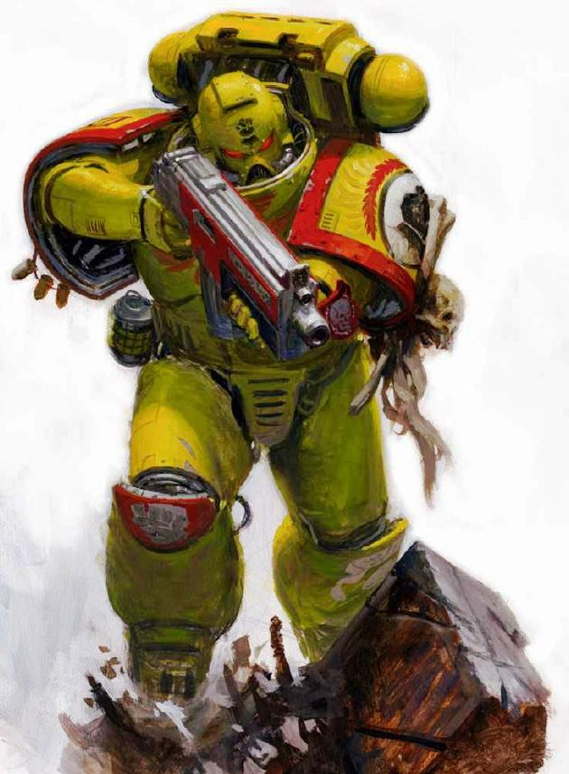 St andrews wargaming angels of death codex review part 2 imperial fists crimson fists and - Imperial fists 40k ...