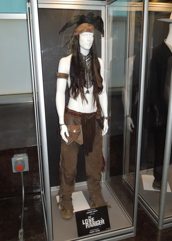 Johnny Depp Tonto costume The Lone Ranger