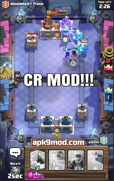 download Rlight clash royale Mod Apk Terbaru