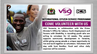 Volunteer Opportunities at VSO Tanzania, July 2018