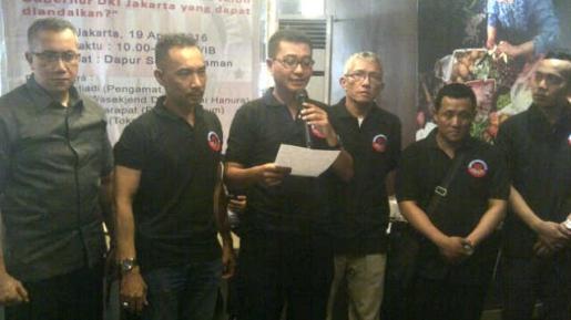 Masyarakat Demokrasi Jakarta Dukung Ahok di Pilkada DKI Jakarta 2017