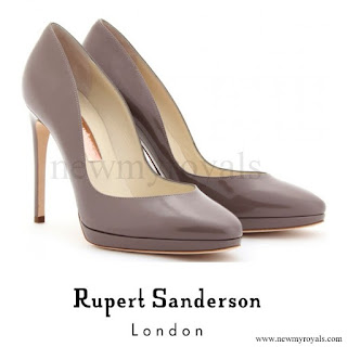 Queen Maxima wore RUPERT SANDERSON Pumps