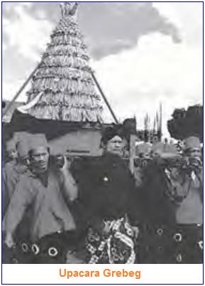 Contoh Seni Budaya Bercorak Islam adalah upacara grebeg maulud