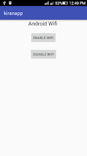 Android wifi disable mode