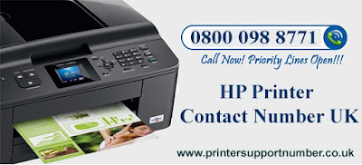 hp printer contact number