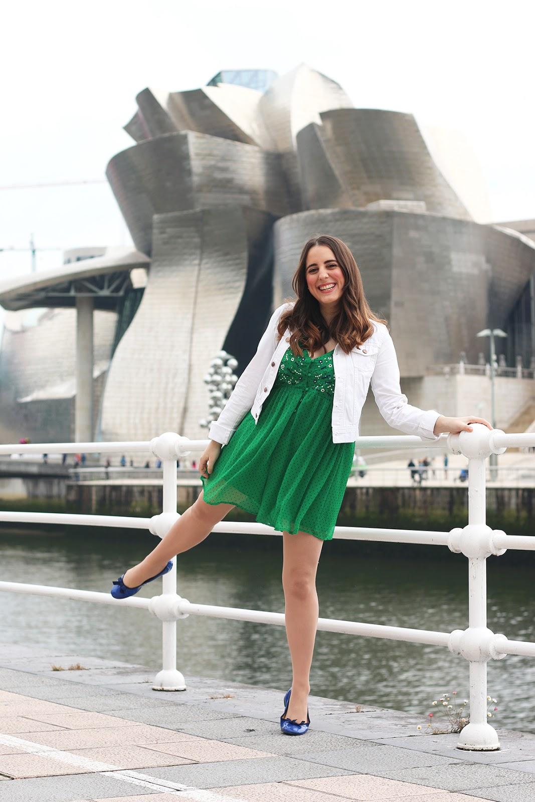 Vestido verde outfit