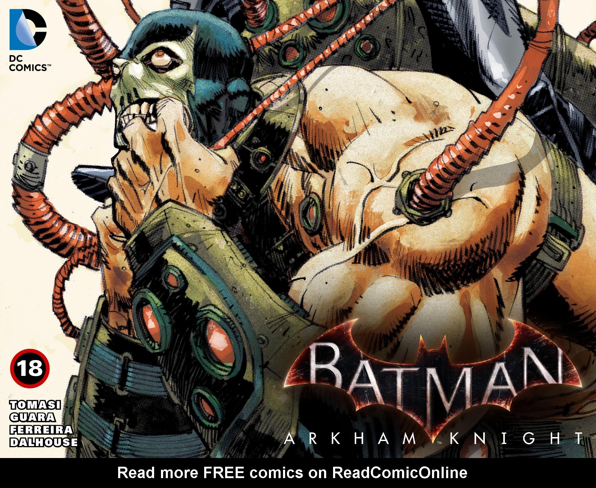 Batman: Arkham Knight [I] 18 Page 1