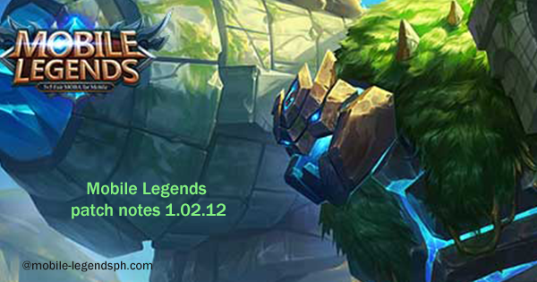 Mobile Legends Patch Notes V 1.02.12 Released