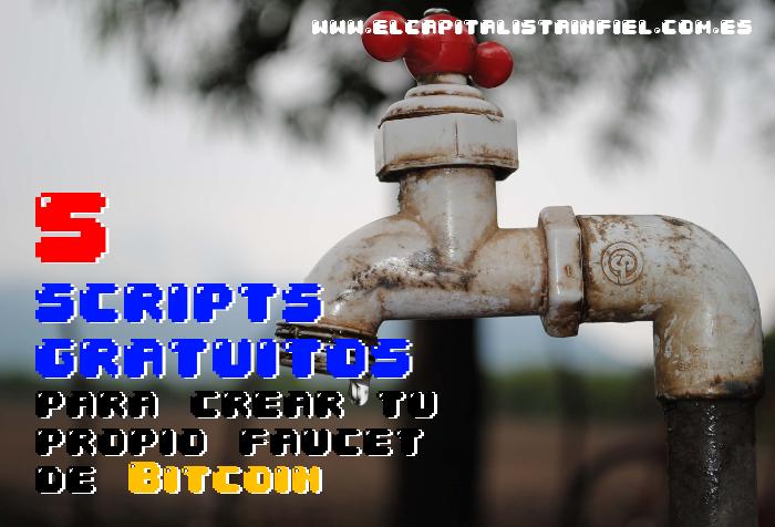 cómo crear una faucet, faucets, scripts