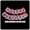 Bunting Banner HAPPY BIRTHDAY Motif Hello Kitty