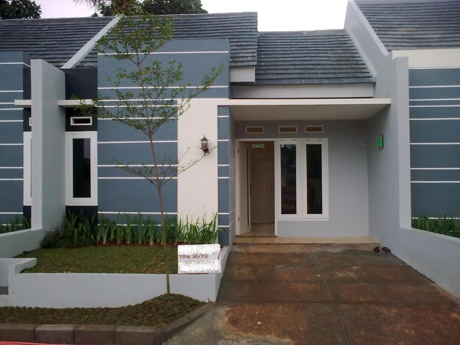 Rumah Minimalis Type 36 Tak Depan - Inspirationhome.co