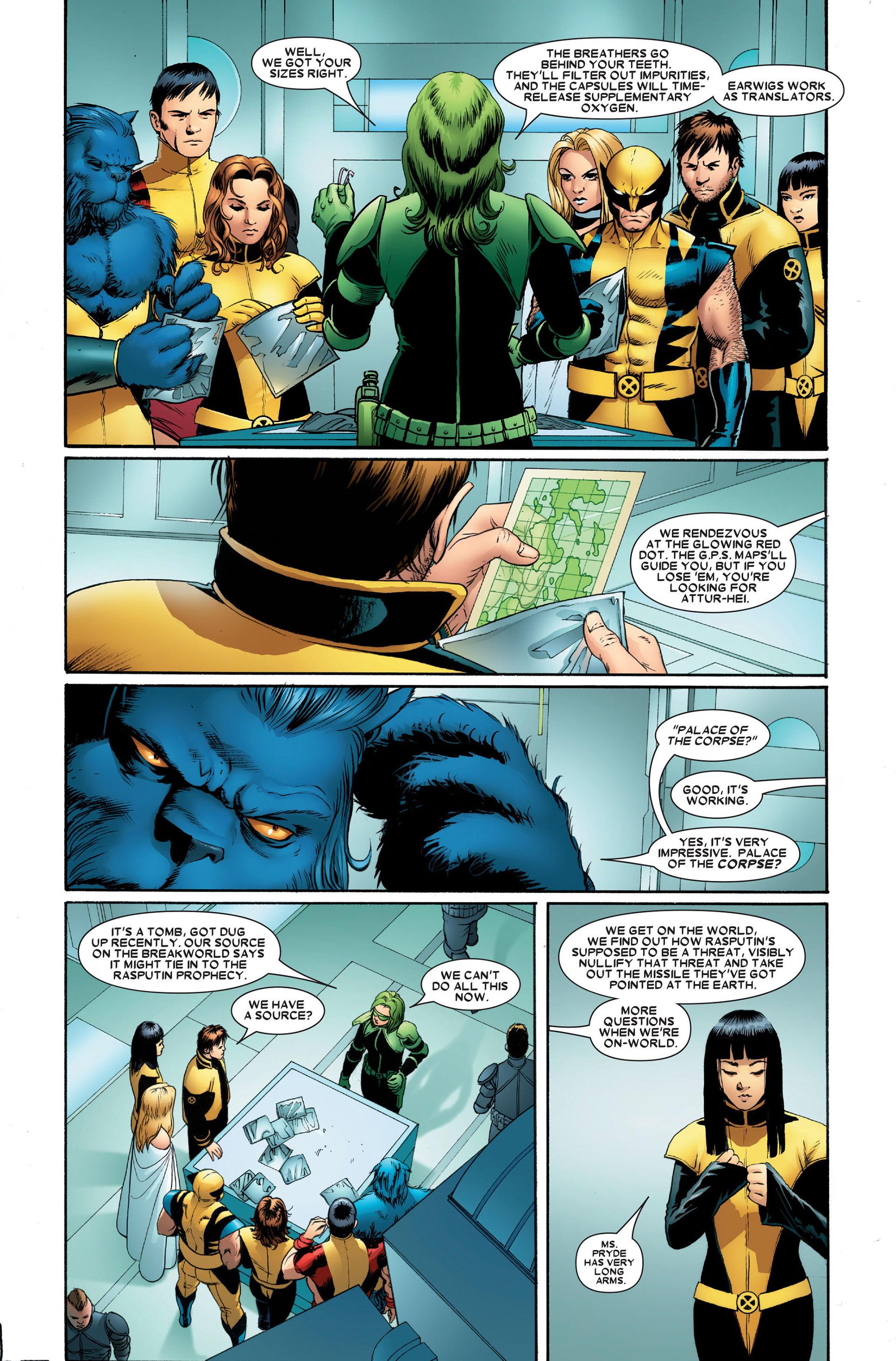Read online Astonishing X-Men (2004) comic -  Issue #20 - 7
