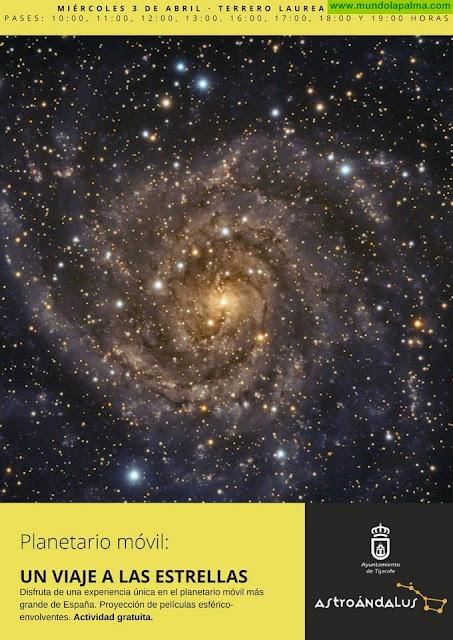 El planetario móvil más grande de España llega a Tijarafe este miércoles