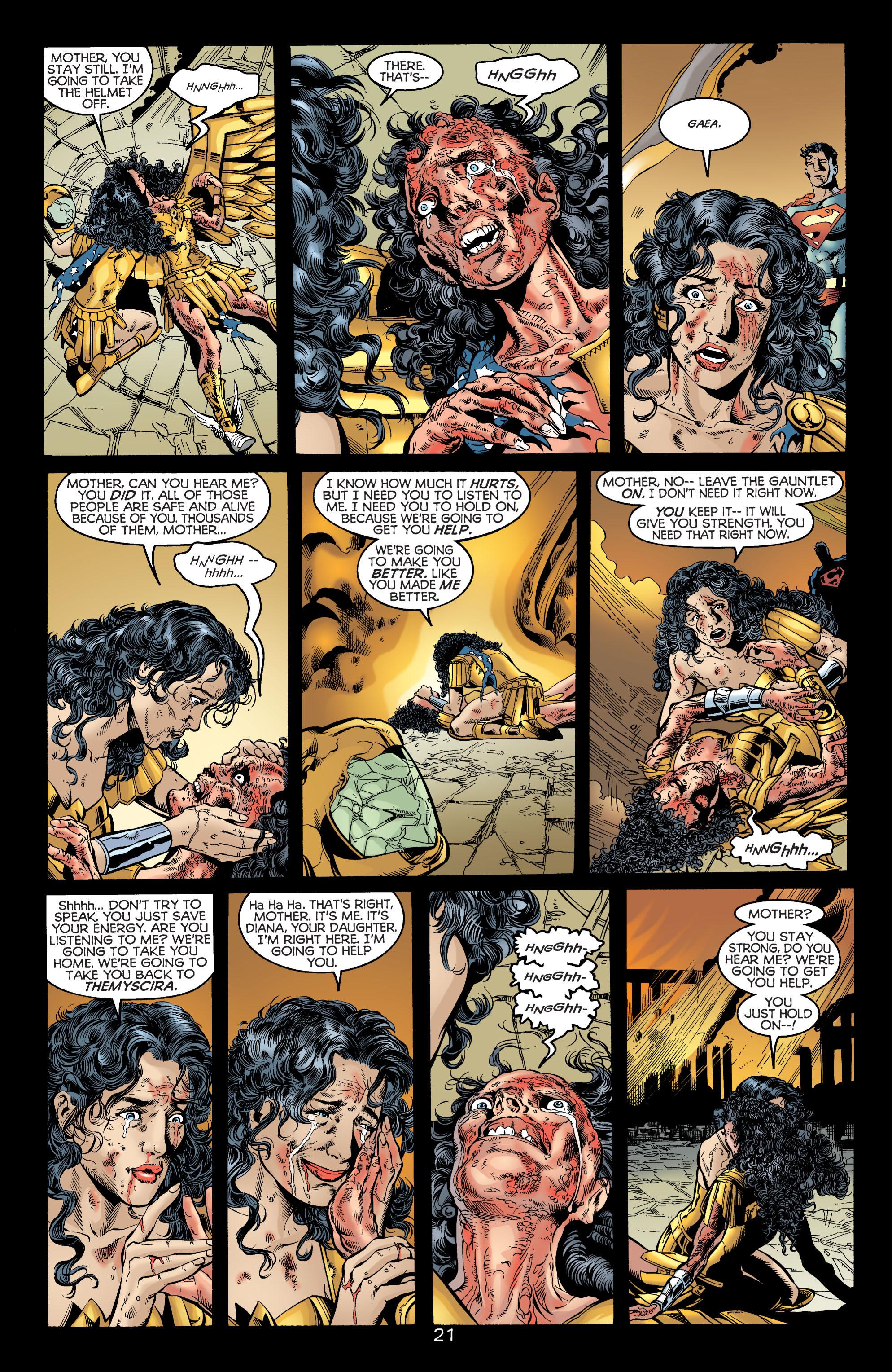 Read online Wonder Woman (1987) comic -  Issue #172 - 21