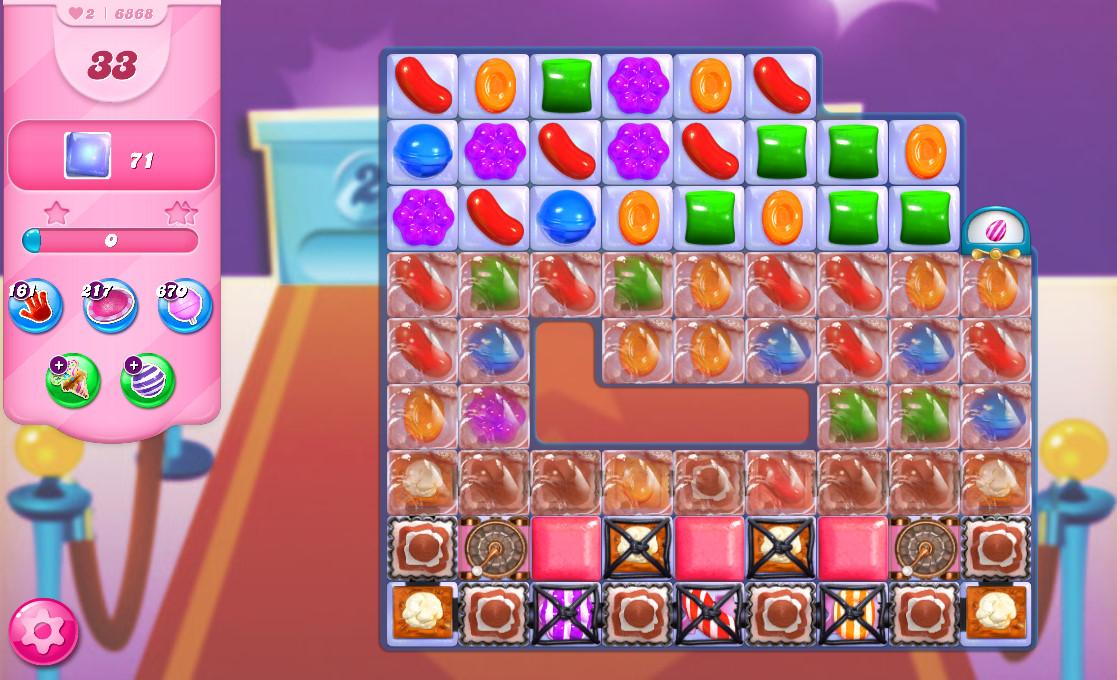 Candy Crush Saga level 6868