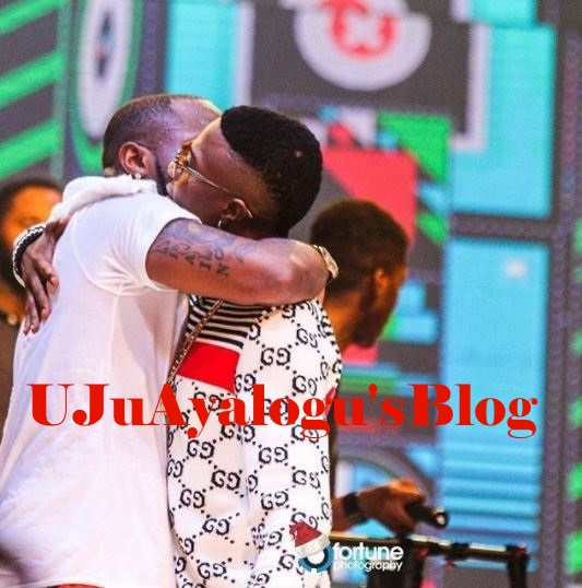 Davido Declares Wizkid 'New Best friend' at #30BillionConcert (Photos)