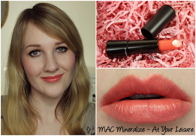 MAC At Your Leisure Mineralize Lipstick swatch