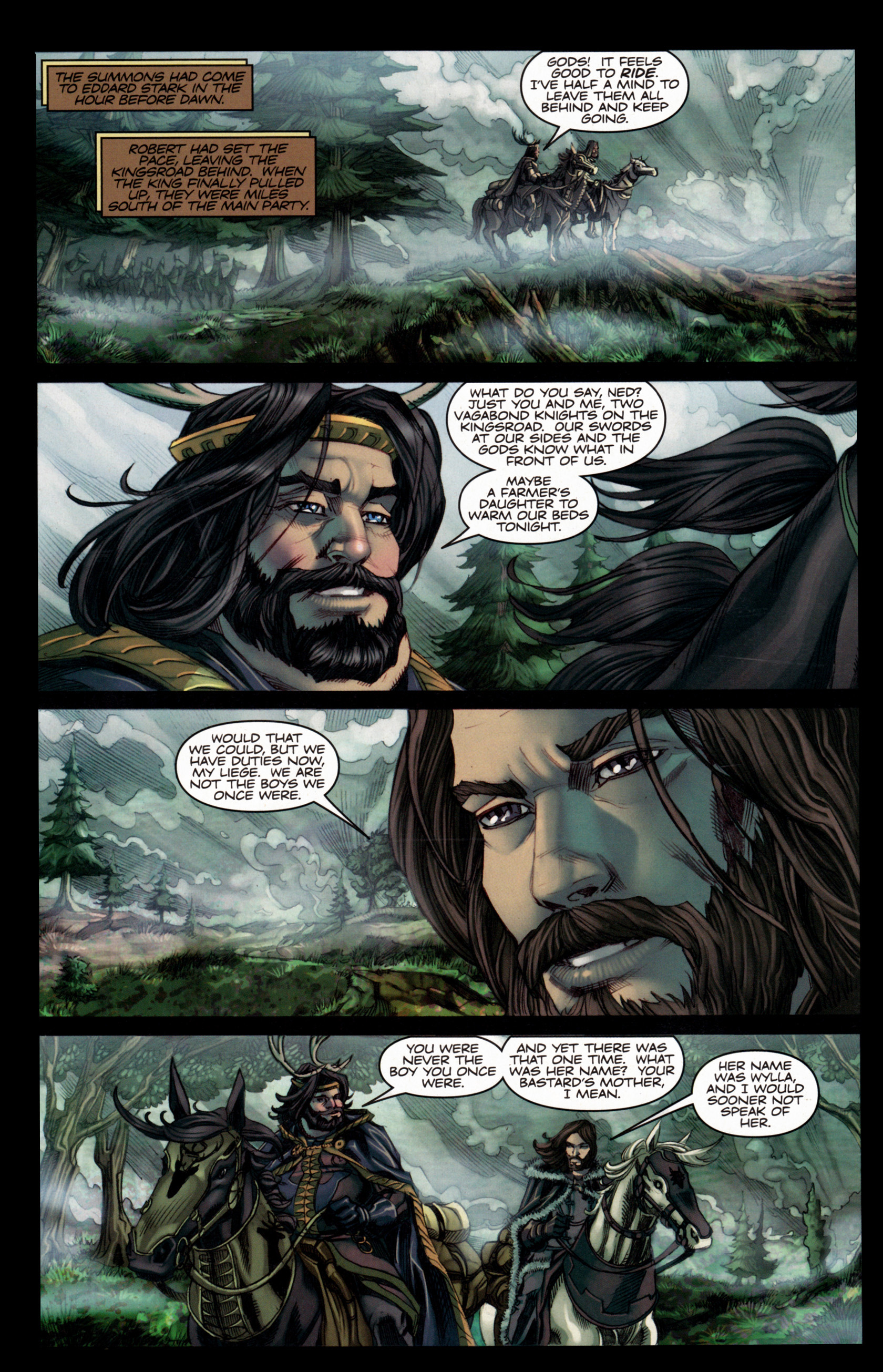 Read online A Game Of Thrones comic -  Issue #4 - 10