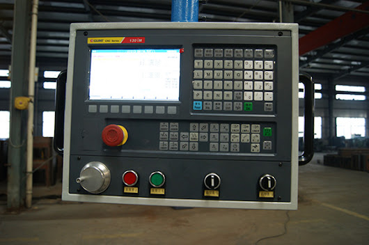 Milling machine CNC system hardware