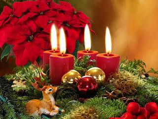Dekorasi Lilin Natal