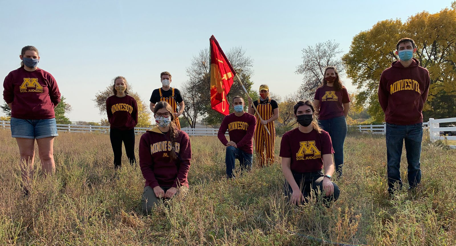 2020 University of Minnesota Region V Soil Judging Team