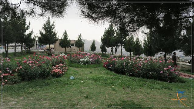 Parque Bibi Mahroo em Cabul, no Afeganistão